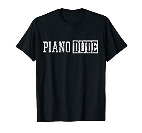 Piano Keyboard Player Musician Pianist Gift T-Shirt