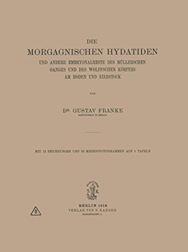 Die Morgagnischen Hydatiden: und andere Embryonalreste des Müllerschen Ganges und des Wolffschen Körpers am Hoden und Eierstock
