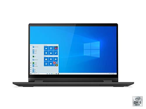 Lenovo IdeaPad Flex 5 14' Convertible Laptop, FHD (1920 x 1080) Touch Display, Intel Core i5-1035G1 Processor, 8GB DDR4 OnBoard RAM, 128GB SSD, Intel UHD Graphics, Win 10, 81X1004RUS, Graphite Grey