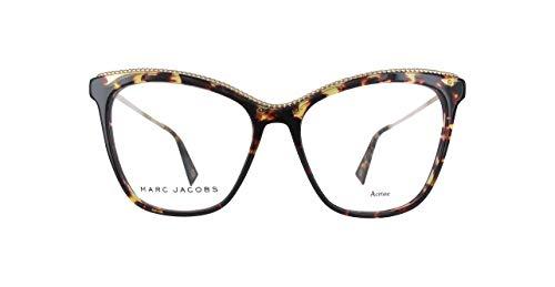 Marc Jacobs  MARC166 Marc Jacobs Brillengestelle Marc166-086-54 Damen Cateye  Brillengestelle 52, Braun