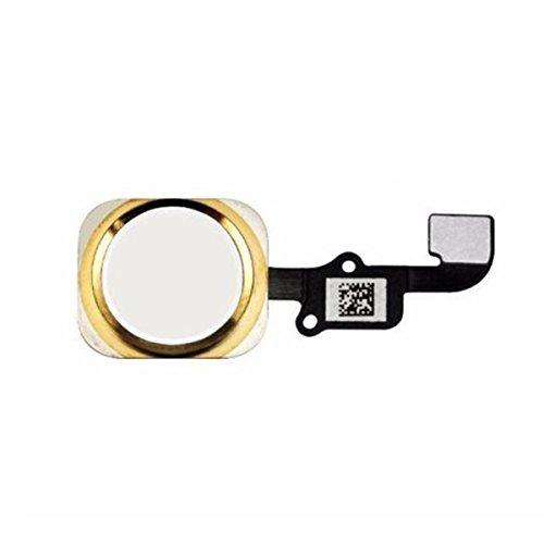 Mobofix Ersatz Home Button für iPhone 6s/6s Plus mit Flexkabel Knopf Taste.(Gold)