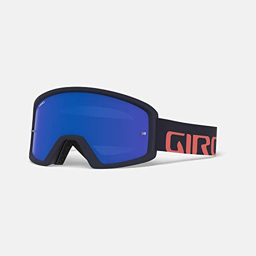 Giro Tazz MTB - Gafas de Ciclismo, Talla única, Midnight/Peach Frame/Grey Cobalt...