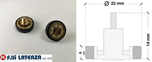 Reserveonderdelen wiellager rol voor douchecabine onderdelen Cabina 22x6/14h