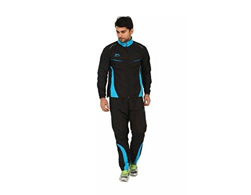 Jalandhar Sports Men's Polyester Tracksuit (Black, 42)