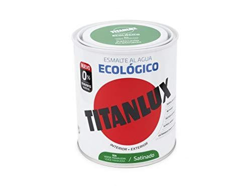 Titanlux Esmalte Al Agua Titanlux Ecológico Satinado 750 Ml