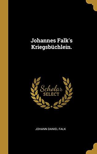 GER-JOHANNES FALKS KRIEGSBUCHL