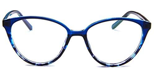 PANGHU Klassische brille Vintage Look clear lens Metall Brillengestelle Brille Ohne Stärke Metallgestell Brillenfassung Damen Herren