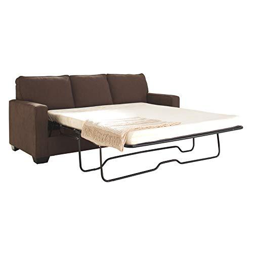 Signature Design by Ashley - Zeb Queen Size Contemporary Sleeper Sofa Couch, Espresso
