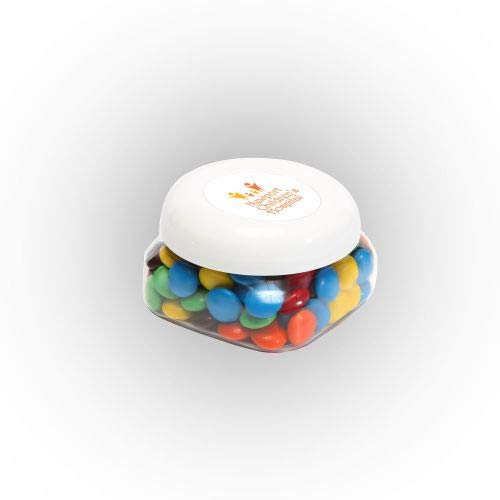 Sale!! M&Ms Plain in Sm Snack Canister