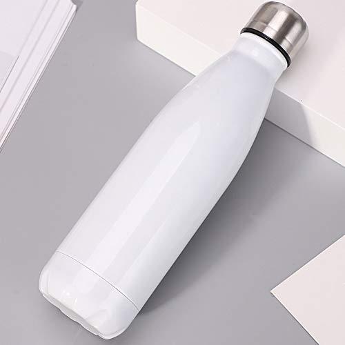 Geïsoleerde Water Fles Thermos Water Fles Draagbare Dubbele Muur RVS Drink Fles Stofzuiger Geïsoleerde Buiten Cup