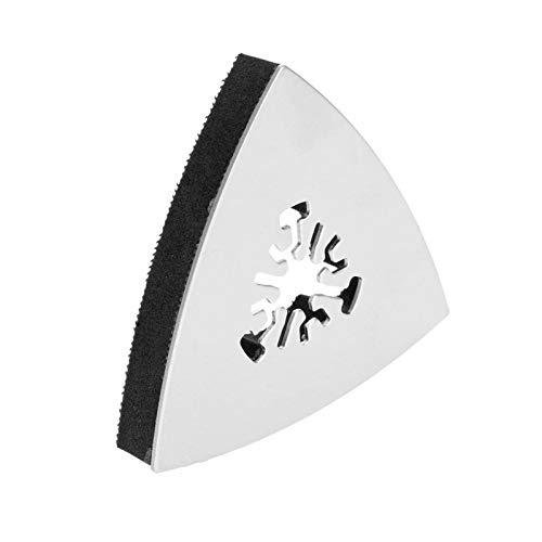 XCQ 1 stück 80mm Dreieck Sandtisch Vibration Multifunktionswerkzeug Elektrowerkzeug Edelstahl rotierender Werkzeug dauerhaft 0429