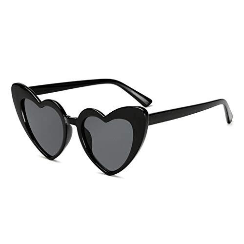 Mujeres con elegancia con elegancia Gafas de sol gafas de sol de las mujeres de la vendimia del amor del corazón de la manera atractiva linda retro gafas de sol baratas de la vendimia del ojo de gato
