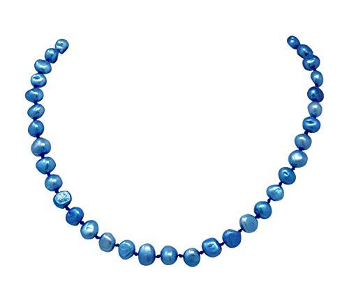 TreasureBay Damen -    Messing  Barock Süßwasser-Zuchtperle  Perle
