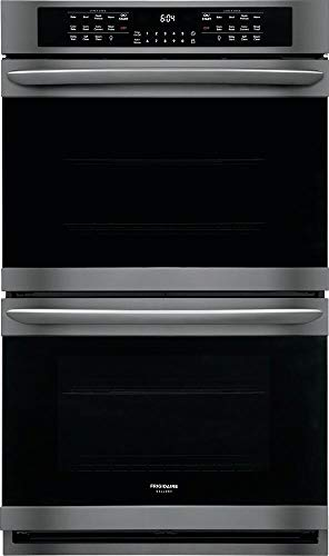 Frigidaire Gallery FGET3066UD 10.2 Cu. Ft. Black Stainless Double Electric Wall Oven