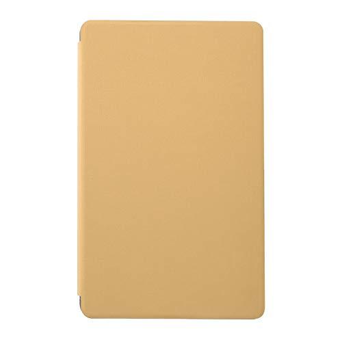 PUSOKEI Funda Protectora Antideslizante para Tableta, Cubierta de Cuero PU anticaída, con función de Soporte, para Tableta Alldocube iplay20(Oro)