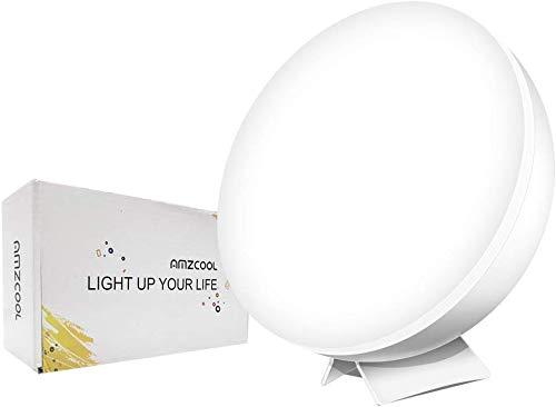 Gelukkige Natuurlijke Licht Therapie Lamp Gesimuleerde Zonlicht Volledige Spectrum LED Lamp UV-Gratis 10000 Lux Heldere Licht Doos Draagbaar