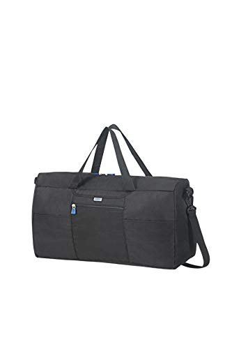 Samsonite Global Travel Accessories - Faltbare Reisetasche S, 55 cm, Schwarz (Black)