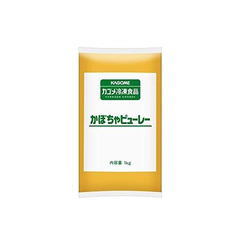 【冷凍】 業務用 かぼちゃ ピューレー 1kg 冷凍野菜 カボチャ カゴメ【入り数2】