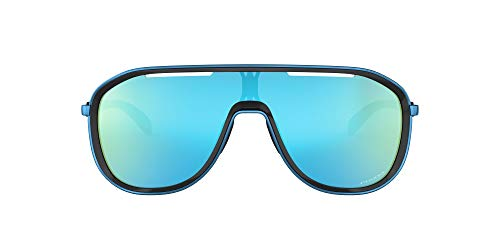Oakley 0OO4133 Gafas de sol, Polished Black/Sapphire, 40 para Mujer
