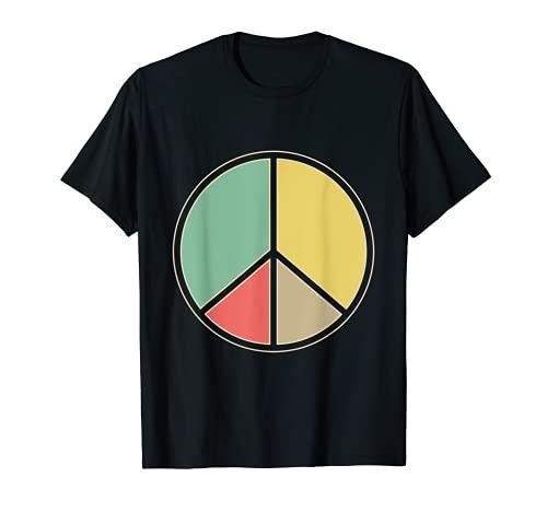 Hippie Paz Signo de Paz Camiseta
