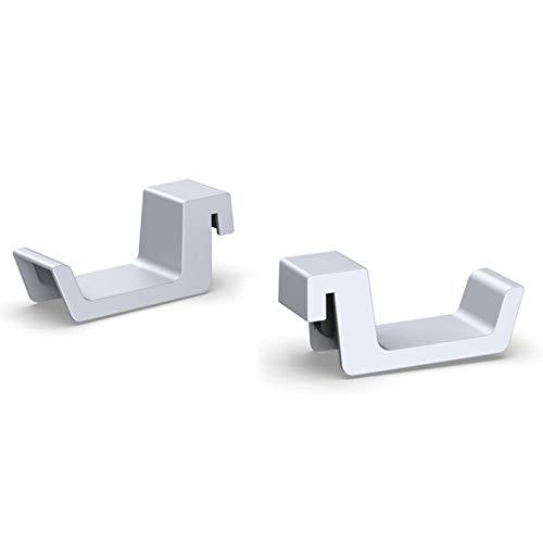 Soporte para auriculares para auriculares Pulse 3D, soporte para auriculares para consola de juegos PS5, soporte para colgar, se puede instalar para consola PS5 soporte para auriculares antideslizante