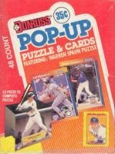 1989 Donruss Pop Up All Stars Wax Box by Donruss