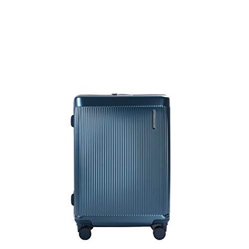 PACO MARTINEZ | Maleta Mediana rígida | Modelo Matt Maleta TSA | Maleta Mediana 4 Ruedas rígida | Color Azul Teal