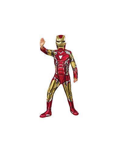 DISBACANAL Disfraz Iron Man Endgame Infantil - -, 8-10 aos