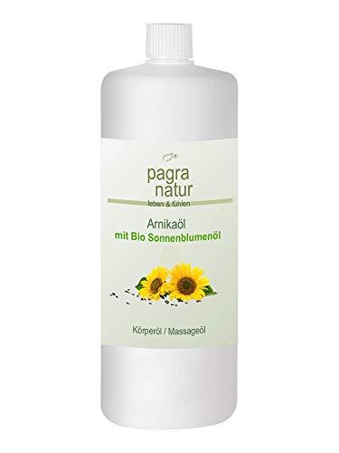 pagra natur Arnikaöl auf Bio-Sonnenblumenölbasis, 250 ml