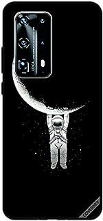 غطاء حماية لهاتف هواوي P40 برو بلس المعلقة على القمر