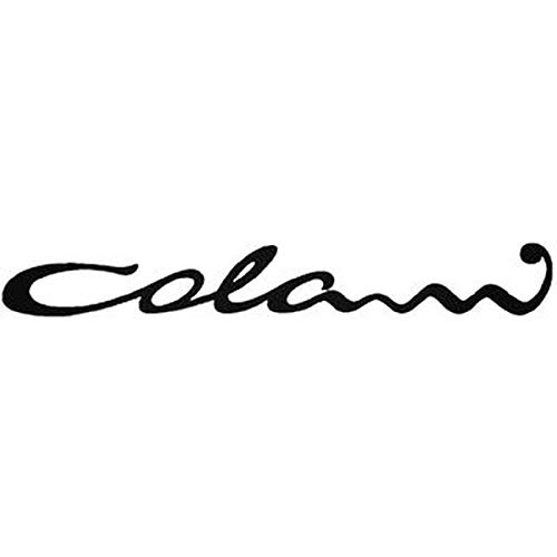 myrockshirt Colani Logo Schriftzug ca.20cm Mofa Moped Roller Motorrad Aufkleber,Sticker,Decal,Autoaufkleber,UV&Waschanlagenfest,Profi-Qualität