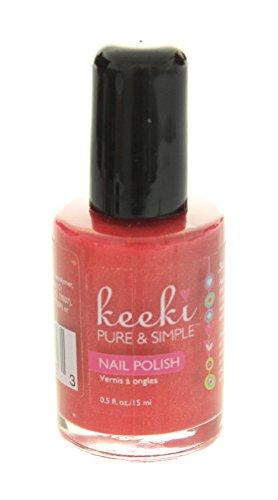 Keeki Pure & Simple Nail Polish, Strawberry Shortcake.5 Fluid Ounce