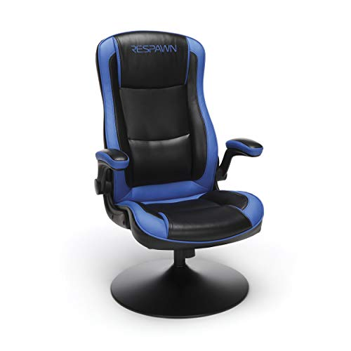 RESPAWN RSP-800 800 Racing Style Rocker, Rocking Gaming Chair, in Blue (RSP-800-BLK-BLU)