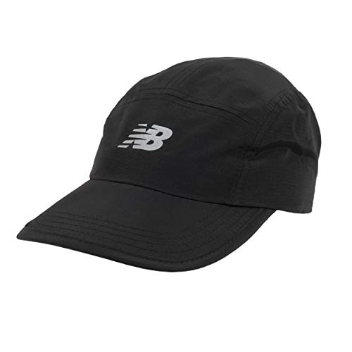New Balance Men's and Women's Running Stash Hat (Black, One Size)