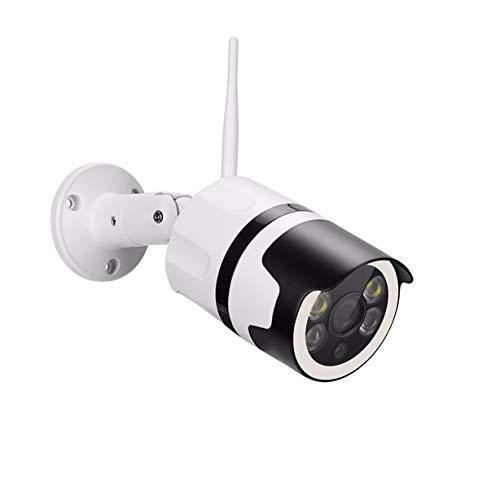 XJJZS Almacenamiento en la Tarjeta de Seguridad de vigilancia CWireless cámara de la Bala Impermeable al Aire Libre de la Nube Amera