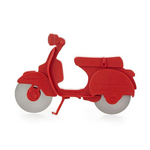 Balvi Tagliapizza Scooter Colore Rosso Plastica ABS/Inox
