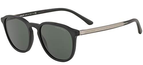 Armani GIORGIO 0AR8104 Gafas de sol, Matte Black, 52 para Mujer
