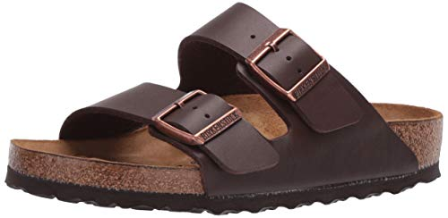 Birkenstock Arizona Dark Brown Womens Sandals Size 38 EU