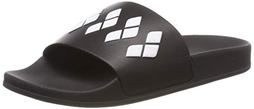 ARENA Team Stripe Slide Sandals Black-Black-White Schuhgröße EU 36 2018 Badeschuhe