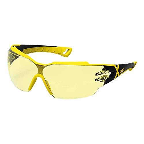 Uvex Pheos CX 2 - Gafas Seguridad Amarillos - Protección