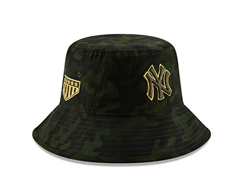 New Era New York Yankees 2019 MLB Armed Forces Day Bucket Hat - Camo