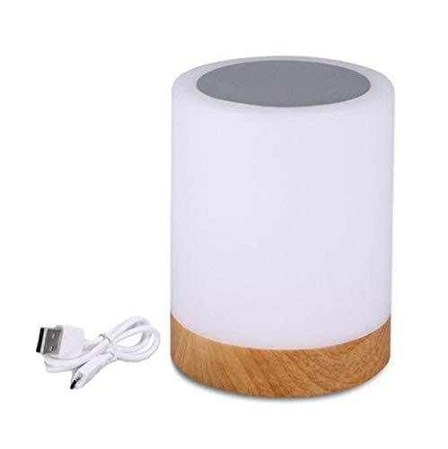 Oplaadbare LED Touch-nachtlampje salontafel nachtlamp 6 kleuren dimbaar nachtlampje 4,72 inch * 3,54 inch
