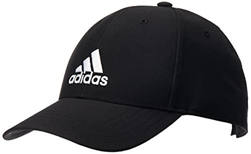 adidas, Bballcap Lt Emb, Berretto Da Baseball, Nero/Nero/Bianco, Osfm, Unisex Adulto