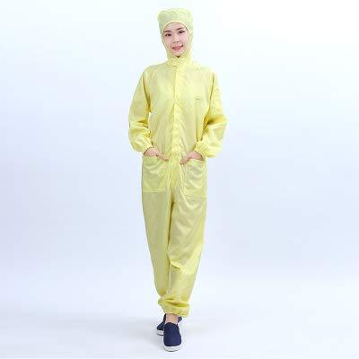 Antistatische Arbeitskleidung, Reinraum, staubdichte Kleidung, saubere Kleidung, staubdichte Arbeitskleidung, Unisex-Arbeitsschutzkleidung Asia Size XL
