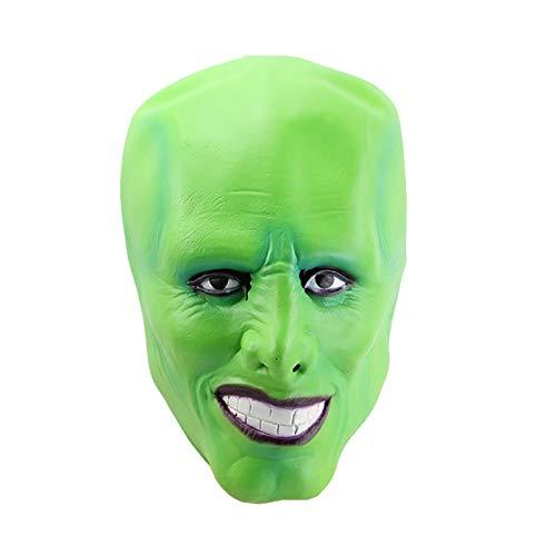 Wangjia Stanley Ipkiss Cosplay Kostüm, Die Maske Cosplay Uniformen Filmcharakter Outfit Mit Maske für Halloween, Kostümpartys