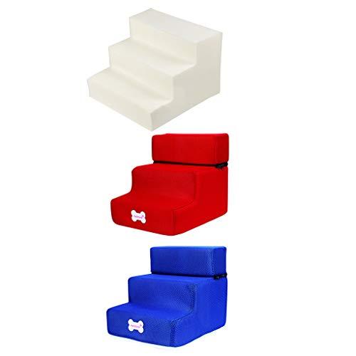 Yowablo Neue 3-Stufen-Mesh-Pet-Kombination mit Rutschfester Unterseite und Leiterabdeckung (Falte Größe:30 * 35 * 30cm,3E)