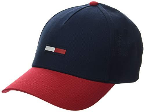 Tommy Jeans Herren TJM Flag Baseball Cap, Beige (Corporate 0f6), One size (Herstellergröße: OS)