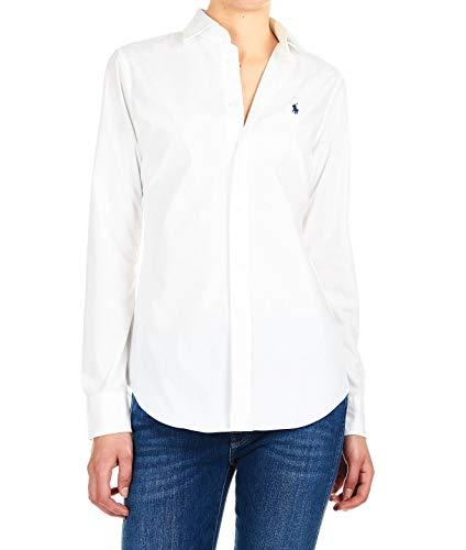 Ralph Lauren Luxury Fashion Mujer 211537103011 Blanco Camisa | Temporada Permanente
