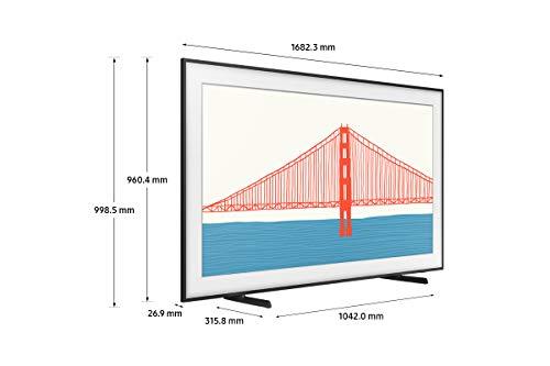 Samsung TV The Frame QE75LS03AAUXZT, Smart TV 75