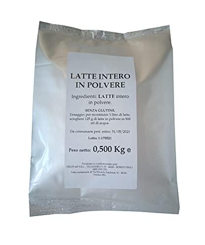 Latte intero in polvere, confezione da 500gr